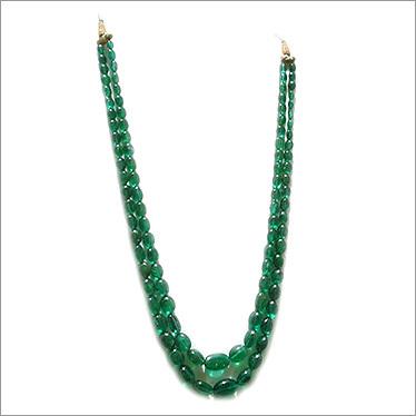 Zambian Emerald Tumbled Beads