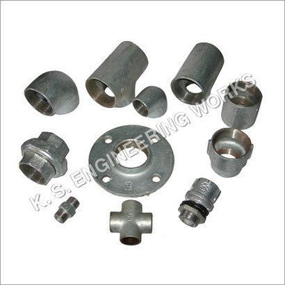 Grey Galvanized Pipe Fittings