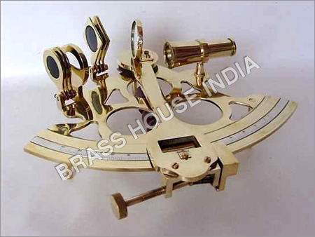Nautical Brass Sextants