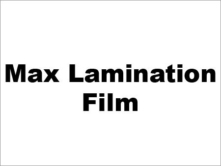 Max Lamination Film