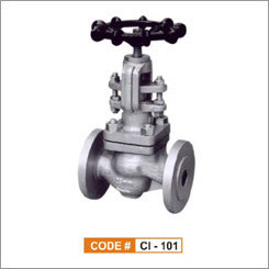 Cast Iron Globe Steam Stop Valve Flanged