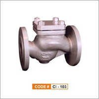 Cast Iron Lift Check Valve