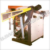 Steel Frame Crucible Induction Furnace