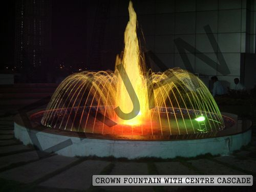 Crown With Centre Cascade