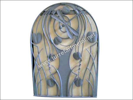 Ornamental Iron Grill