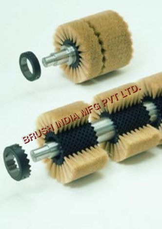 Cylindrical Brush Rollers