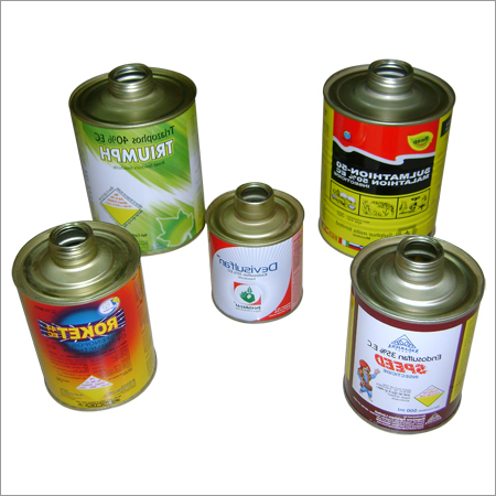 Printed Round Tin Container