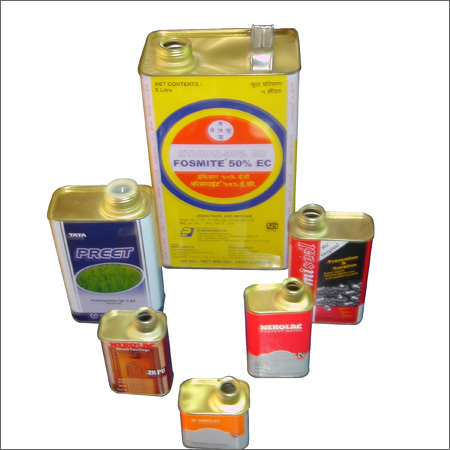 Pesticide Tin Container