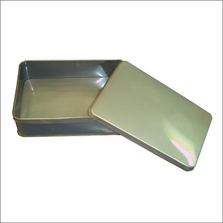 Rectangular Tin Box