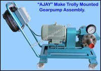 Trolley Mounted Gear Pump Assembly