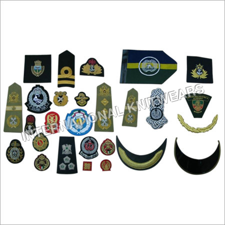 Military Embroidered Badges
