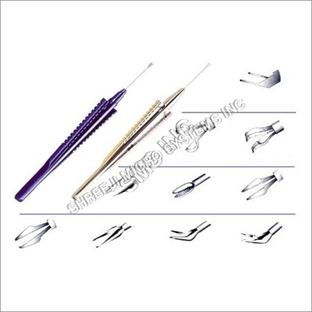 Ophthalmic Vitreoretinal Instruments