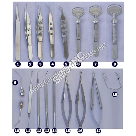 Micro Ophthalmic Instrument