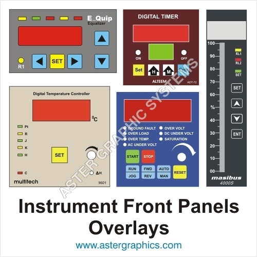 Instrument Front Panel - Over Lay