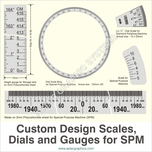 Custom Design Scale, Dials & Gauges
