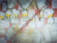 Remy Single Drawn White Hair