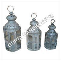 Decorative Iron Lamp Set