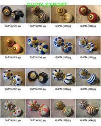 Decorative Painted Knobs