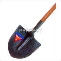 Hi-Neck Shovel Round Nose with Wooden Handle