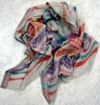 Modal Cashmere Jacquard Scarves
