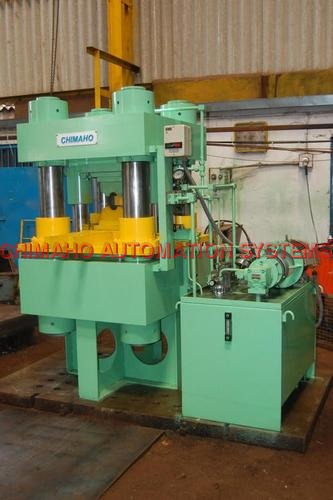 Wire Rope Crimping Press