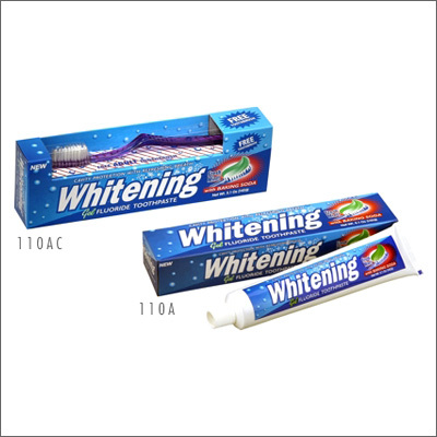 Anticavity Toothpaste Gel