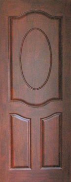 Three Panel Oval