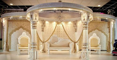New Carved Mandap