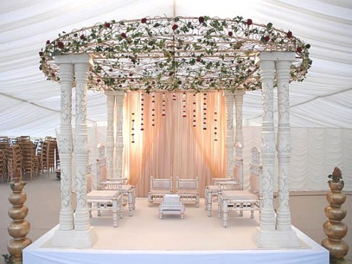 Wrought Iron Top Mandap