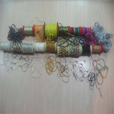 Colored Glass Beads Cords