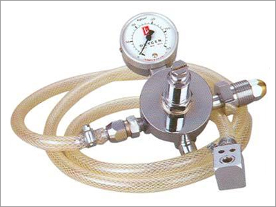 Oxygen Preset Regulator With Pin-in-Dex Valve