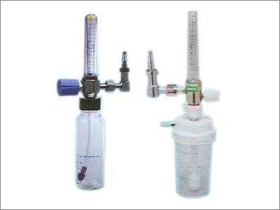 Oxygen Pipe Line Flow Meter with Humidifier Bottle