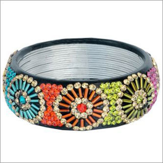Beaded Lac Bangle