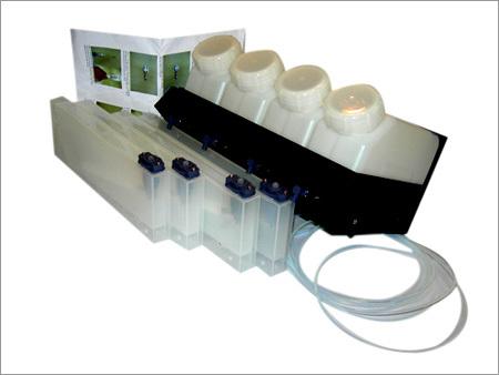 4 Color 4 Slots CISS Eco-Solvent Bulk Ink System