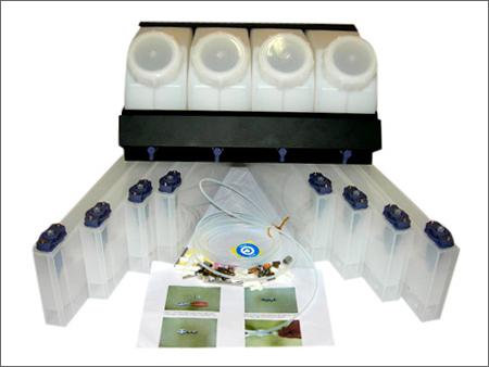 4 Color 8 Slots Ciss Eco-Solvent Bulk Ink System