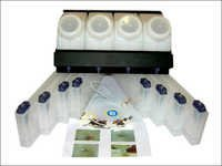 4 Color 8 Slots CISS Eco-Solvent Bulk Ink System