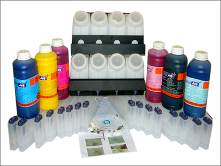 6 Color12 Slots CISS Eco-Solvent Bulk Ink System