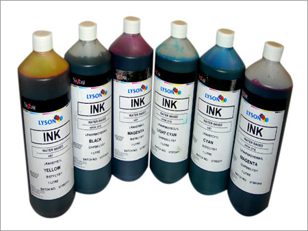 Water Based Pigment Ink