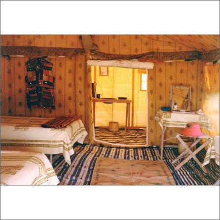 Shikar Tent Interior