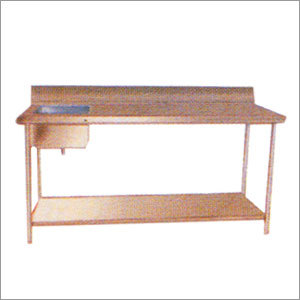 Stainless Steel Work Tables with Sinks