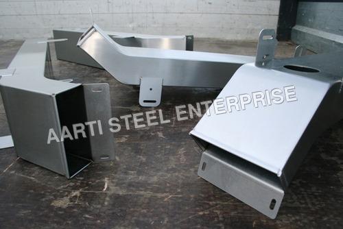 Mild Steel Conveyor Chute