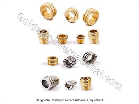 Brass Male Female PPR, CPVC, UPVC Knurling Parts