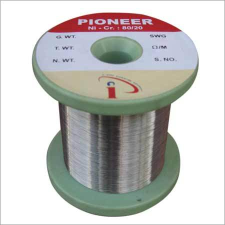 Bright Annealed Nicrome Wire Conductor Material: Nickel