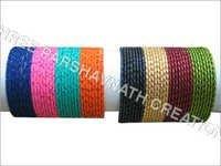 Matte color bangles