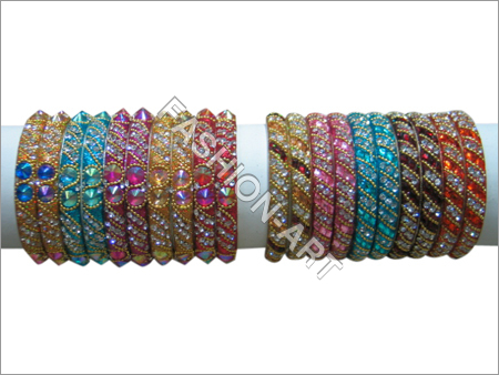 Assorted Color Stone Bangles