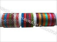 Color cutting bangles