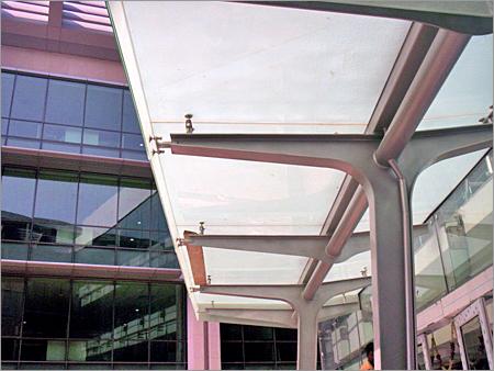 Main Entrance Glass Canopy