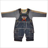 Embroidered Dungaree
