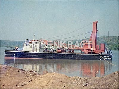 Barge Mounted Slew Crane