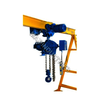 Belt-Driven Chain Hoist